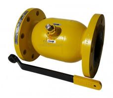 Кран шаровый фланцевый EFAR WK 6ba PB dn 100 для пропан бутана