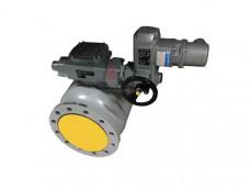 Кран шаровый  фланцевый с приводом EFAR WK 6a DN250 для пропан бутана