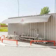 Подземная газовая заправка 5 м3