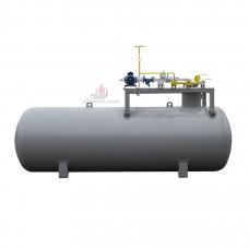 Подземная газовая заправка без колонки