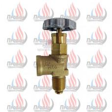 Угловой клапан для резервуаров 7550 P